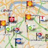 Petrol prices map