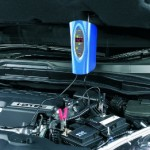 Ring Automotive SmartCharge+ 8 battery charger in use