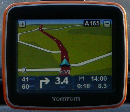 TomTom Start2 GPS satellite navigation unit