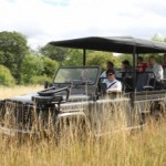 Land Rover electric model developed for safari park use