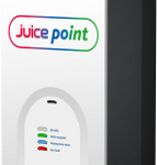 npower Easy Box Juice Point electric car charging point