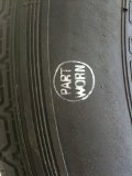 Part worn tyre mark (courtesy of Micheldever Tyre Services)