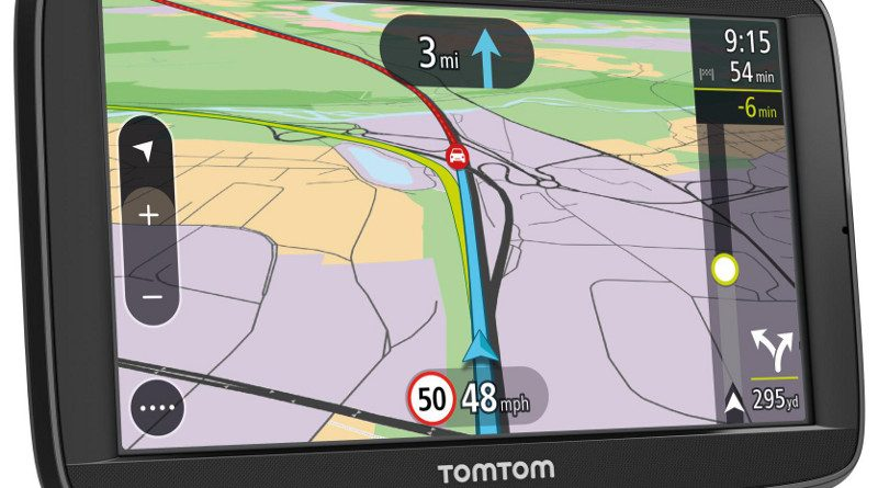 New TomTom smart sat navs use smartphone to provide live updates