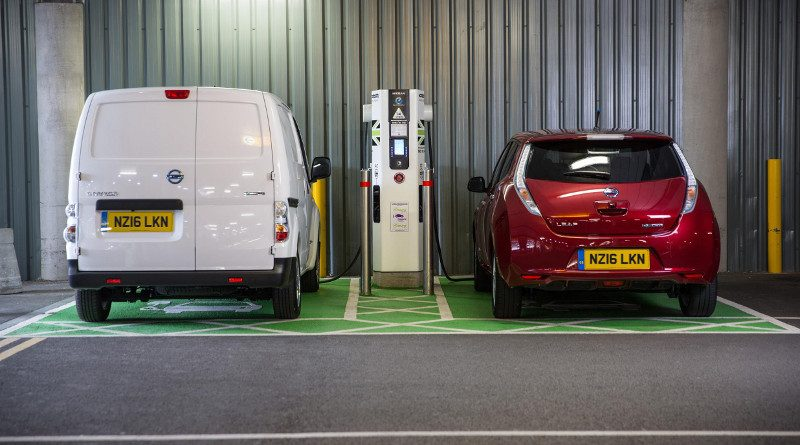 Will electric charging stations outnumber fuel stations by 2020?