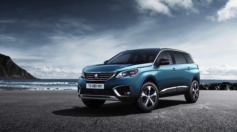 Peugeot aims high with new 5008 SUV