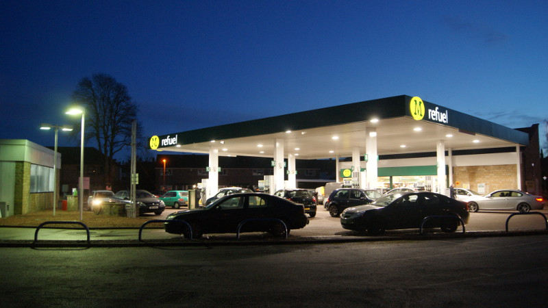 Morrisons filling station, Wetherby