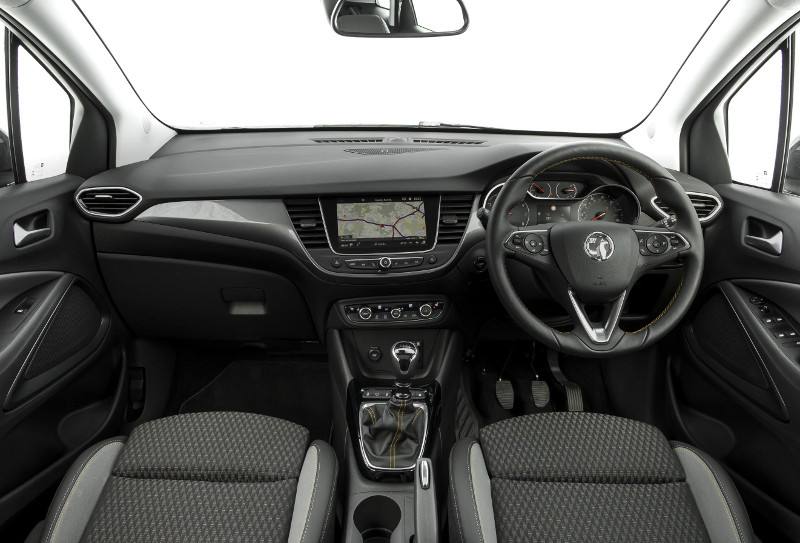 First look vauxhall crossland x - British interior design style pragmatism comes first ...